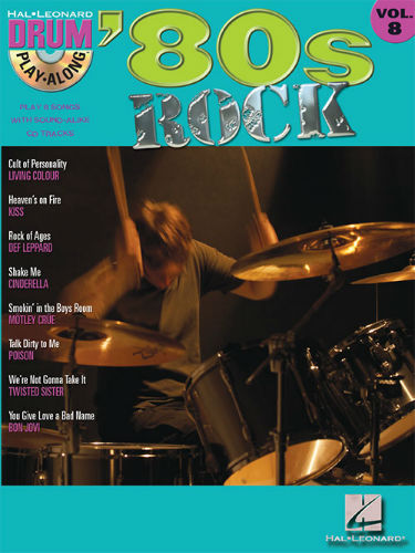 80s Rock - Drum Play-Along Series Volume 8