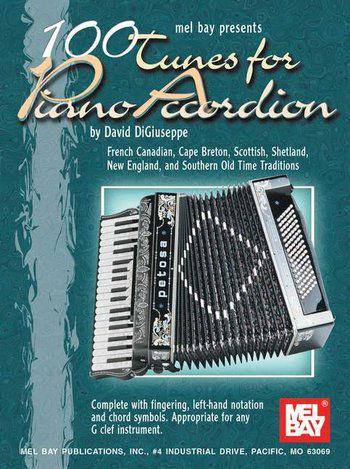 100 Tunes for Piano Accordion Book