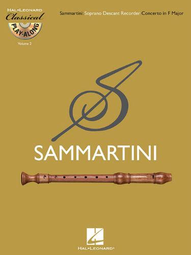 Descant (Soprano) Recorder Concerto in F Major - Classical Play-Along Series Volume 2
