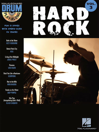 Hard Rock - Drum Play-Along Series Volume 3