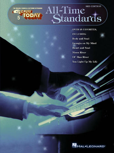 All Time Standards – 3rd Edition - E-Z Play® Today Series Volume 5
