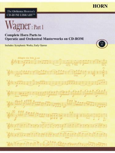 Wagner: Part 1 – Volume 11 - CD Sheet Music Series - CD-ROM