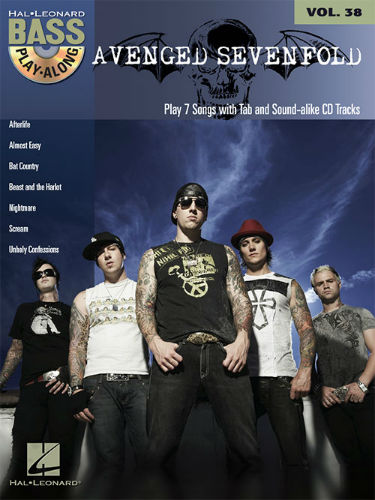 Avenged Sevenfold - Bass Play-Along Volume 38 Book and CD