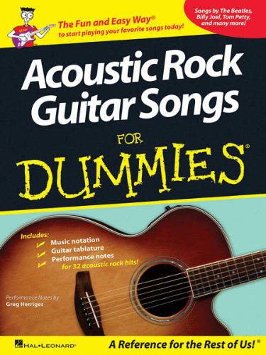 Acoustic Rock Guitar Songs for Dummies® - Dummies Collections Series