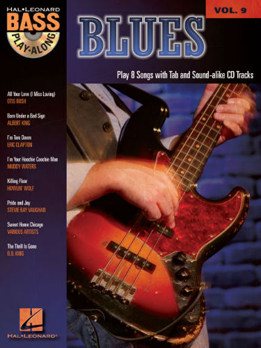 Blues - Blues Bass Play-Along Volume 9 Book and CD