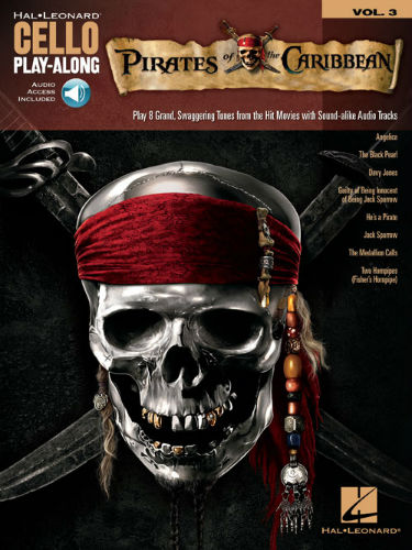 Pirates of the Caribbean - Cello Play-Along Series Volume 3
