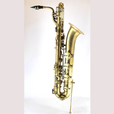 Schiller Elite IV Baritone Saxophone - Vintage Gold