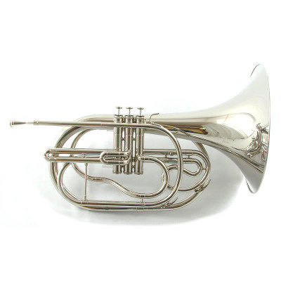 Schiller Field Series Marching French Horn Bell Front