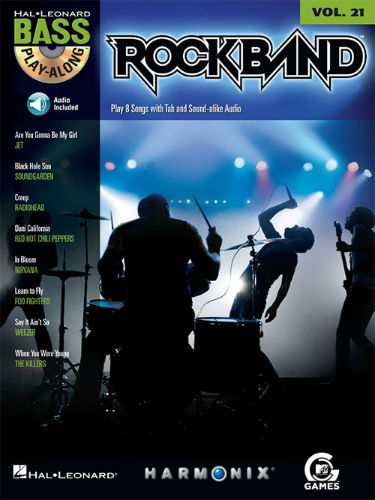 Rock Band - Bass Play-Along Volume 21 Book and CD