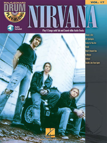 Nirvana - Drum Play-Along Series Volume 17