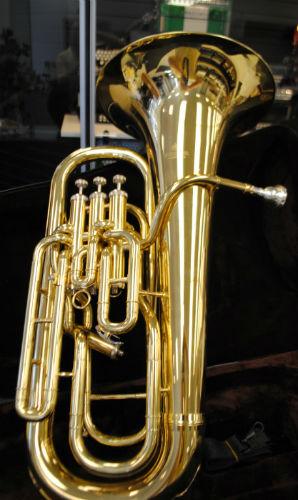 Schiller 4 Valve Compensating Euphonium - Gold Closeout