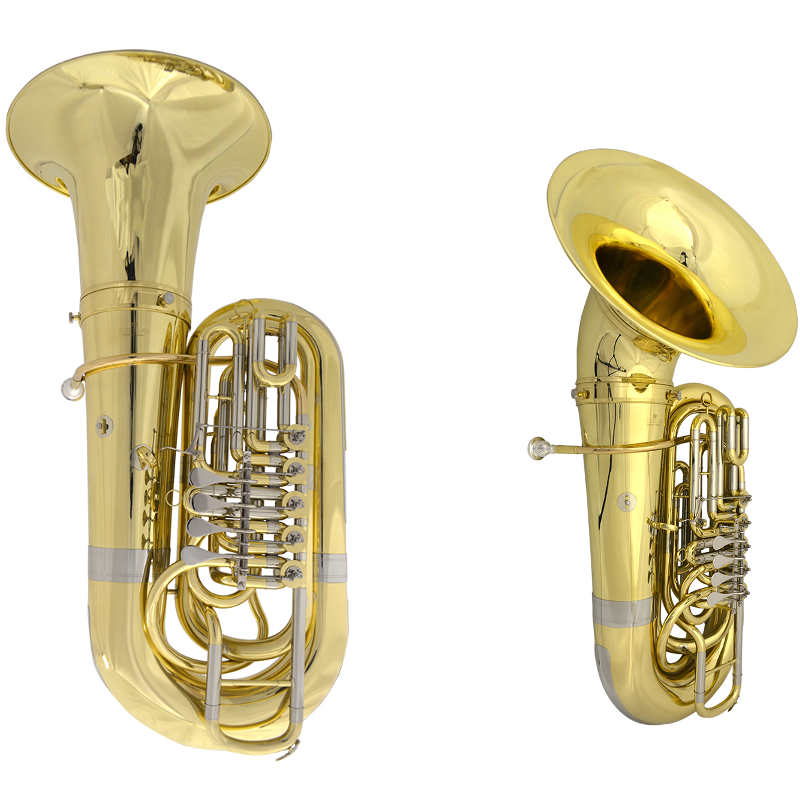 Schiller American Heritage Symphonic Tuba with Upright & Front Bell