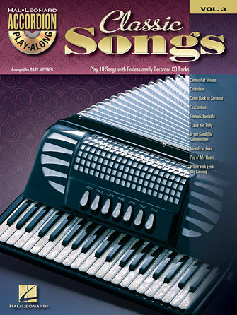 Classic Songs Accordion Book and CD