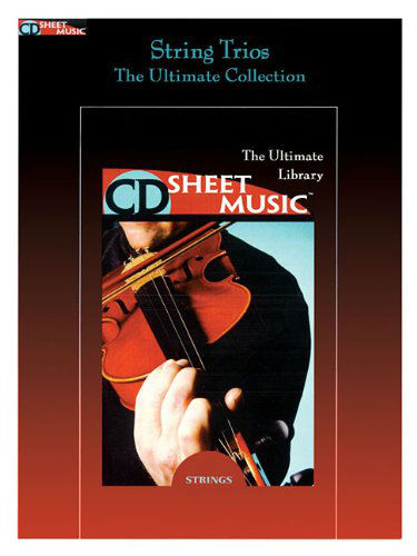 String Trios - The Ultimate Collection - CD Sheet Music Series - CD-ROM