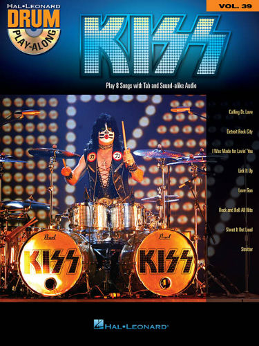 Kiss - Drum Play-Along Series Volume 39