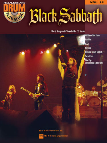 Black Sabbath - Drum Play-Along Series Volume 22
