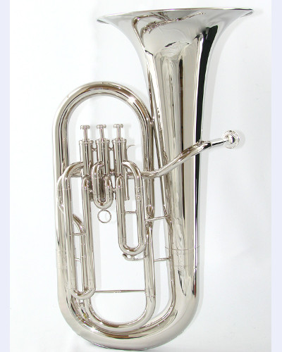 Schiller Model 300 Nickel Plated Euphonium