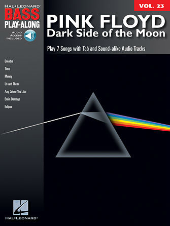Pink Floyd – Dark Side of the Moon - Bass Play-Along Volume 23 Book and CD