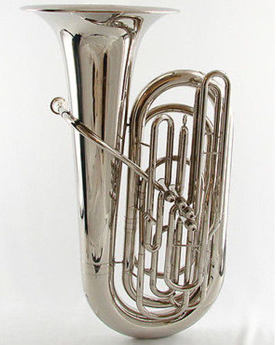 Schiller American Heritage BBb Tuba Nickel Plated