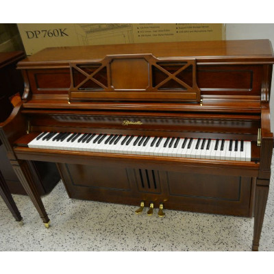 Ritmuller Upright Piano 115 Walnut Satin