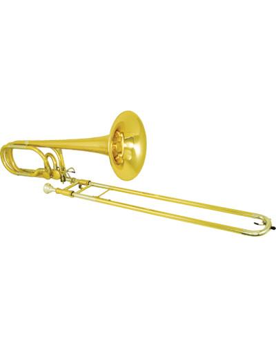 Kanstul Model 1662i Bb/F/Gb/D Double Bass Trombone