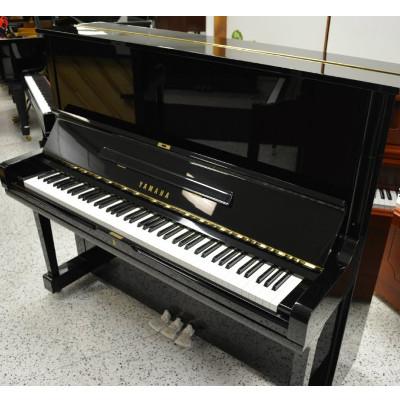 Yamaha u3 upright piano used jim laabs music store for Used yamaha u3 upright piano