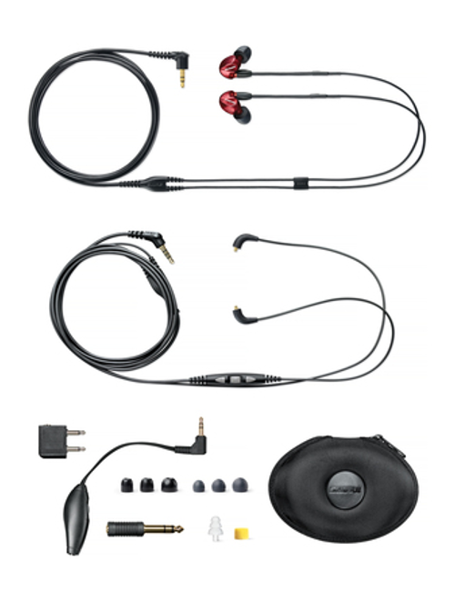 Shure SE535LTD Limited Edition Sound Isolating™ Earphones with Remote + Mic