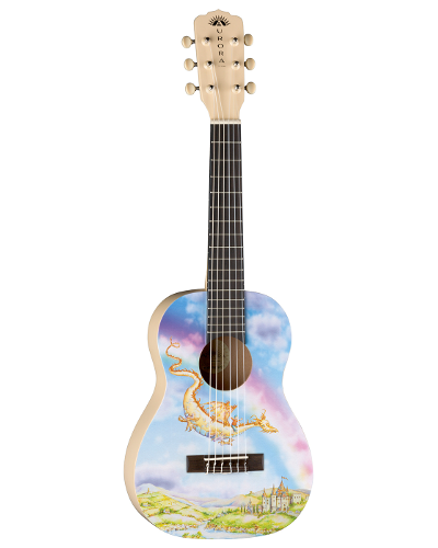 Luna Aurora Dragon 1/2 Acoustic Nylon - AR2 NYL DRAGON