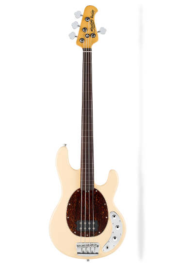 Sterling by Music Man - RAY34CA Fretless Vintage Cream
