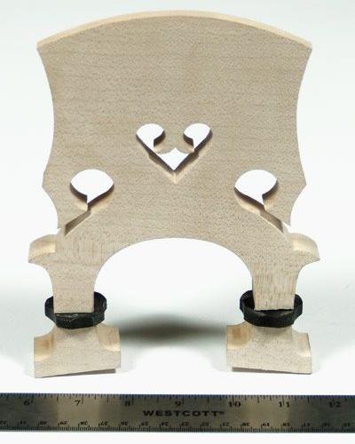 Vienna Strings Adjustable Bass Bridge-3/4 Size
