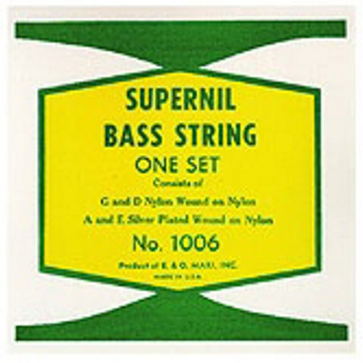 La Bella 1006 Supernil Nylon Wound Double Bass Strings