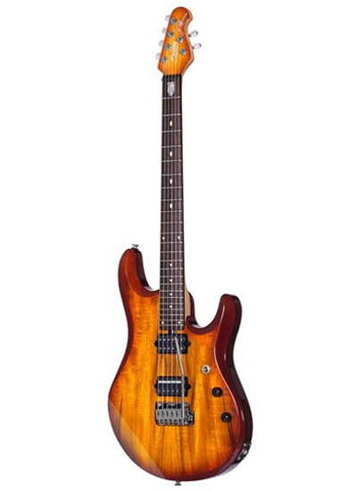 Sterling by Music Man - JP100D Mahogany Body / Koa Top