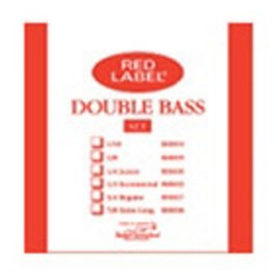 Super Sensitive Red Label Double Bass String Set ( 1 / 2 )