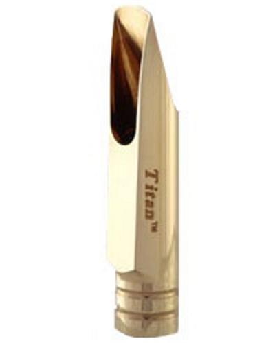 SR Technologies Titan Gold Plated Tenor Saxophone Mouthpiece (.108 Opening)