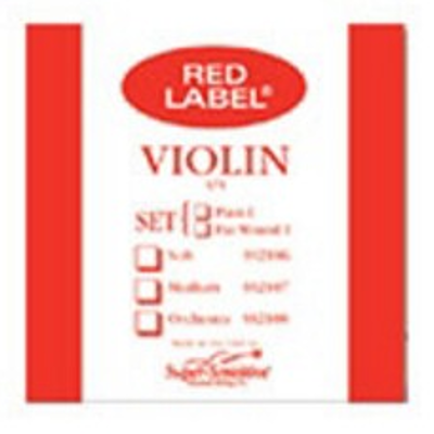 Super Sensitive Red Label Single Violin String ( 1/16, D )