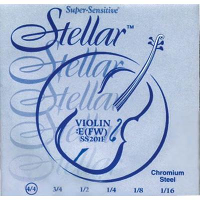Stellar Violin Strings by Supersensitive