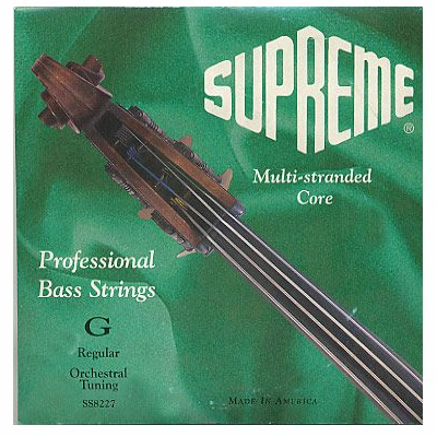 Supreme Solo Tuned Bass Strings by Super Sensitive
