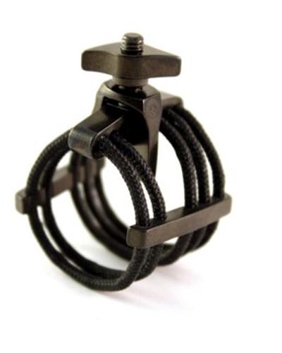 Silverstein Works Ligatures for Metal Saxophone Mouthpieces (Medium, Black)