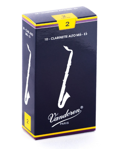 Vandoren Alto Clarinet Reeds (Assorted Strengths)