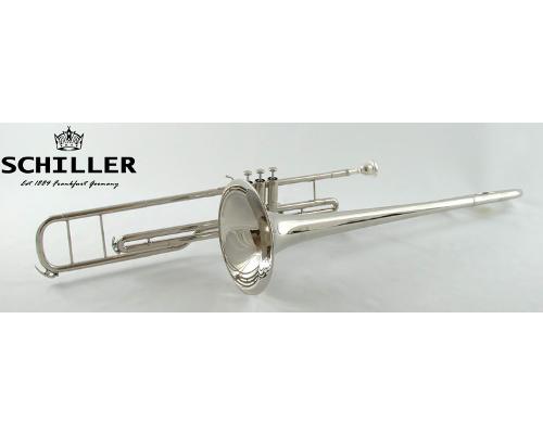 Schiller American Heritage Valve Trombone Bb Nickel Plated