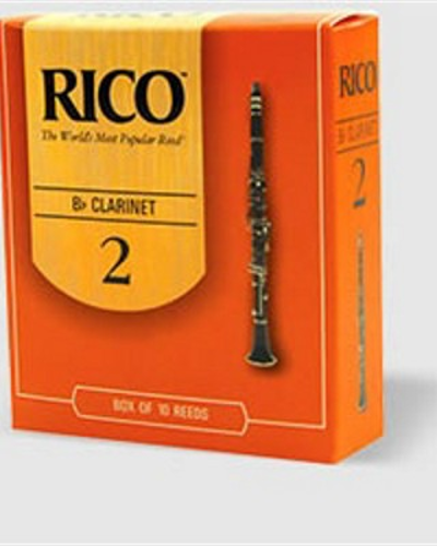 Rico Bb Clarinet Reeds Box of 10 (Select Strength)
