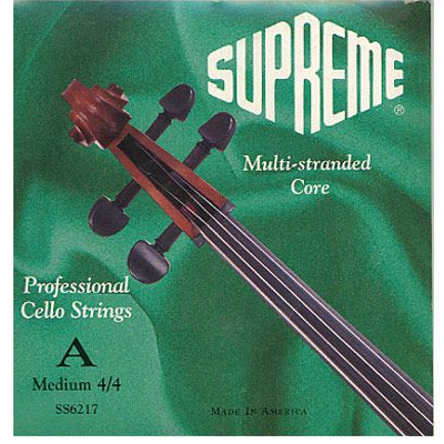 Supreme Cello Strings by Super Sensitive