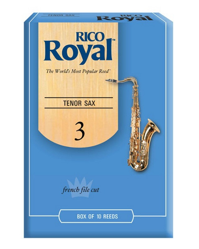 Rico Royal Tenor Saxophone Reeds (Various Strengths)(Box of 10)