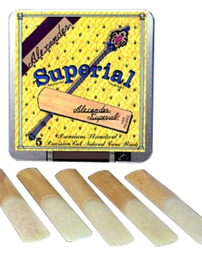 Alexander Superial Soprano Saxophone Reeds (Assorted Strenghts)