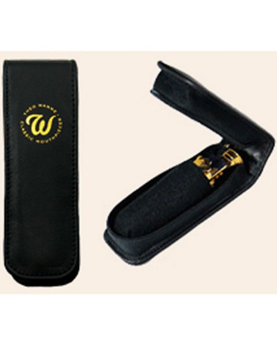 Theo Wanne Leather Pouch Single Mouthpiece Case for Saxophone