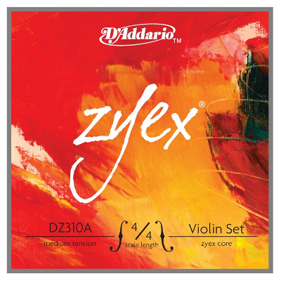 D Addario Zyex 4/4 Violin String Set (Medium)