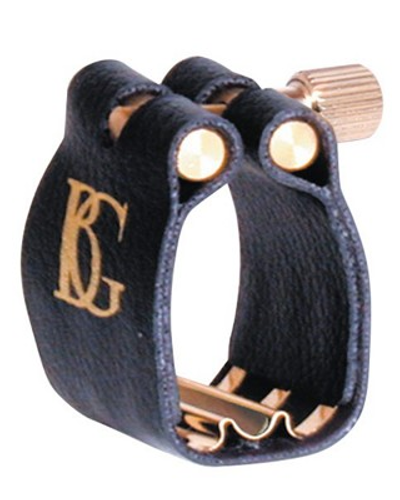 BG France Leather Saxophone Ligature (Tenor Sax - Super Revelation)