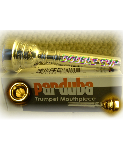 Parduba Double Cut Trumpet Mouthpiece