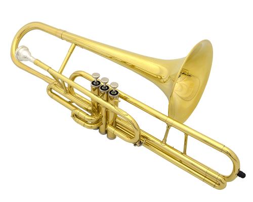 Schiller American Heritage Compact Piston Valve Trombone Key of C