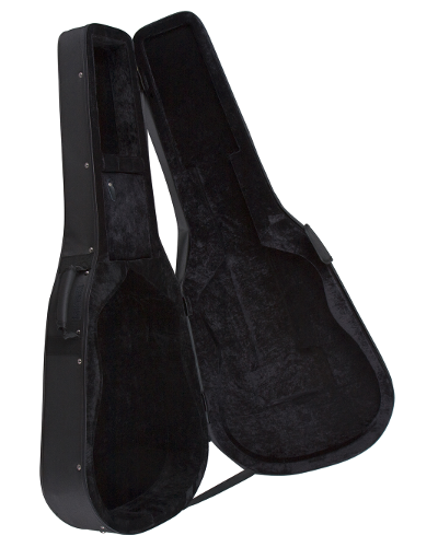Luna Guitar Lightweight Case Folk/Parlor Series